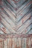Grunge pastel red tint wood planks texture background Stock Photo
