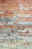 Grunge pastel red tint wood planks texture background Royalty Free Stock Photo