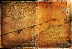 Grunge path Royalty Free Stock Image