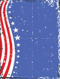 Grunge Patriotic Background Royalty Free Stock Photography