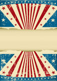 Grunge patriotic background Royalty Free Stock Photos