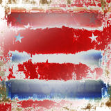 Grunge patriótico Imagenes de archivo