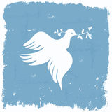 Grunge peace Stock Photo