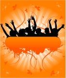 Grunge People Banner , Stock Photo