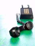 Grunge phone from around 1970 Stock Photography