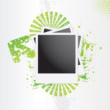 Grunge photo frame Royalty Free Stock Photo