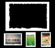 Grunge photo frame, border Royalty Free Stock Image