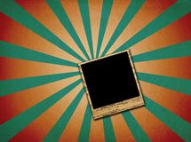 Grunge photo frames Stock Images