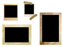 Grunge photo frames Stock Photo