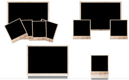 Grunge photo frames Royalty Free Stock Images