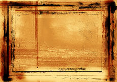 Grunge photographic border royalty free stock images