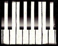 Grunge piano Royalty Free Stock Photos