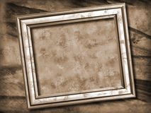 Grunge picture frame stock photo