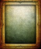 Grunge picture frame background Stock Images