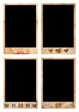 Grunge picture frames royalty free illustration