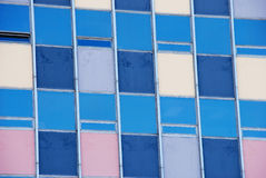 Grunge Picture of Old Pastel Colored Windows Stock Photos
