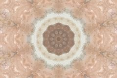 Grunge Pink. Grungy pink and brown starburst pattern Royalty Free Illustration