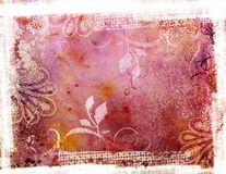 Grunge pink background. Decorative background in grunge style in pink colors Stock Images