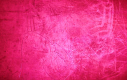 Grunge Pink  background texture - vibrant colored red valentine` Stock Image