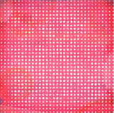 Grunge pink dotted background. Royalty Free Stock Images