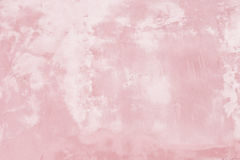 Grunge pink painted wall texture background Stock Photography