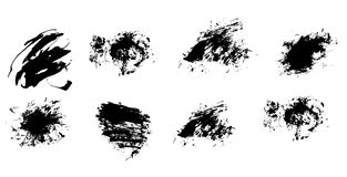 Grunge Pinsel vektor abbildung