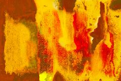 Grunge pintó la pared ilustración del vector