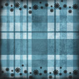 Grunge  plaid  pattern Royalty Free Stock Photography