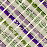 Grunge plaid pattern. Royalty Free Stock Photo
