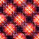 Grunge plaid pattern. Stock Photos