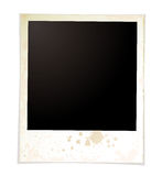Grunge plain polaroid Royalty Free Stock Photo