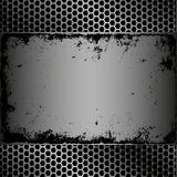 Grunge plaque Royalty Free Stock Photo