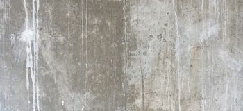 Plastered cement concrete wall background texture. Grunge plastered cement concrete wall banner background texture stock images