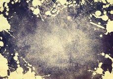 Grunge ploetert Textuurachtergrond vector illustratie