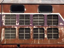Grunge pociąg Obrazy Royalty Free