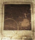 Grunge polaroid Stock Image