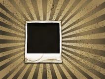 Grunge polaroid Royalty Free Stock Photo
