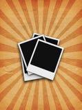 Grunge Polaroide Lizenzfreie Stockfotos