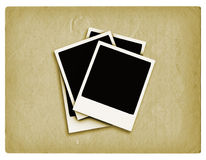 Grunge polaroids Royalty Free Stock Image