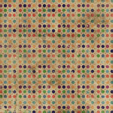 Grunge Polka Dots Background Stock Photography