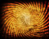 grunge pomarańcze przekręcał ilustracji