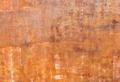 Grunge pomarańczowej czerwieni ściany tło Obrazy Stock