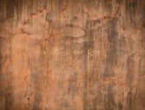 Grunge pomarańczowej czerwieni ściany tło Obraz Royalty Free