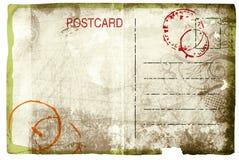 Grunge postcard royalty free stock image
