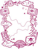 Grunge Poster Stock Photo