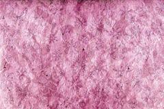Grunge pourprée de fleur Photo stock