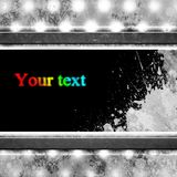 Grunge preto e branco um fundo Foto de Stock