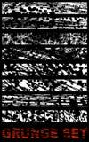 Grunge projekta abstrakcjonistyczni elementy. Zdjęcia Stock