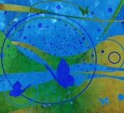 grunge projektu abstrakcyjne Obrazy Royalty Free