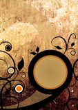 grunge projektu abstrakcyjne tło Obraz Royalty Free